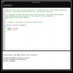 "L'éditeur de script du plugin MIDI ""Scripter"""